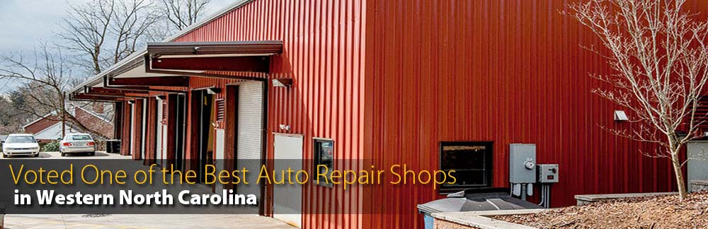 Voted One of Best Auto Repair Shops - Western North Carolina