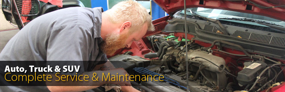 Complete Service and Maintenance - Trucks, SUVs and RVs